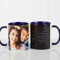 Photo Sentiments For Her 11 oz. Mug in Blue