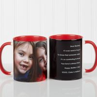 Photo Sentiments For Her 11 oz. Mug in Red