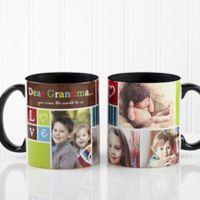 Photo Fun 11 oz. Coffee Mug in Black