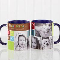 Photo Fun 11 oz. Coffee Mug in Blue