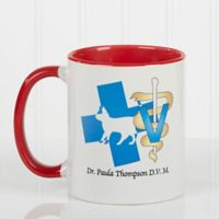 11 Medical Specialties 11 oz. Coffee Mug in Red
