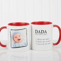 Definition of Dad/Grandpa 11 oz. Coffee Mug in Red