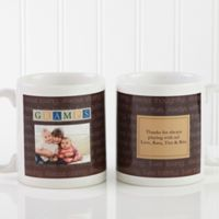 Just For Him 11 oz. Photo Coffee Mug in White