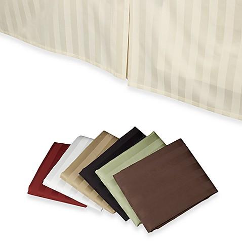 wamsutta® 500 damask bed skirt - bed bath & beyond