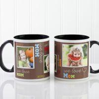 Loving You 11 oz. Photo Coffee Mug in Black