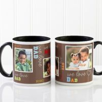 Loving You 11 oz. Photo Coffee Mug in Black