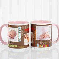 Loving You 11 oz. Photo Coffee Mug in Pink
