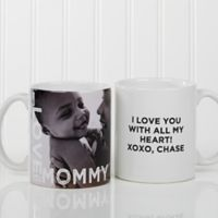 Loving Them 11 oz. Photo Coffee Mug in White
