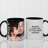 Loving Them 15 oz. Photo Coffee Mug in Black