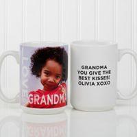 Loving Them 15 oz. Photo Coffee Mug in White