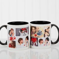 Create A Photo Collage 11 oz. Coffee Mug in Black