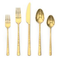 Olivia & Oliver® Harper 5-Piece Flatware Place Setting in Gold