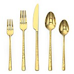 Olivia & Oliver Harper 20-Piece Flatware Set in Gold