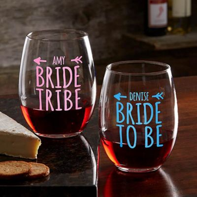 Buy Wedding Party Wine Glasses from Bed Bath & Beyond