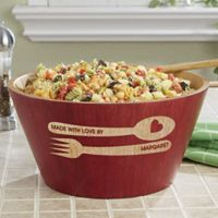 Made With Love By Bamboo Serving Bowl