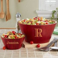 Classic Celebrations Large Bamboo Serving Bowl