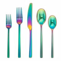 Cambridge® Beacon Mirror 20-Piece Flatware Set in Rainbow