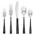 Cambridge® Arden Speckle Paint 20-Piece Flatware Set in Black