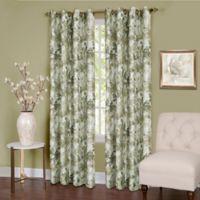 Tranquil 63-Inch Grommet Top Room Darkening Window Curtain Panel in Green
