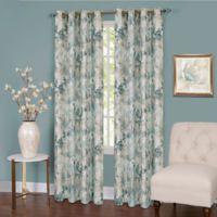 Tranquil 63-Inch Grommet Top Room Darkening Window Curtain Panel in Mist