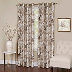 Tranquil 63-Inch Grommet Top Room Darkening Window Curtain Panel in Tan