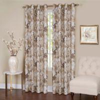 Tranquil 63-Inch Grommet Top Room Darkening Window Curtain Panel in Tan