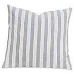 SIScovers® Farmhouse 16-Inch Square Throw Pillow in White/Grey