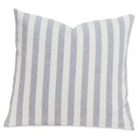 SIScovers® Farmhouse 26-Inch Square Throw Pillow in White/Grey