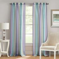 Achim Spectrum 63-Inch Rod Pocket Window Curtain Panel in Lilac