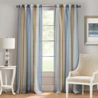 Achim Spectrum 63-Inch Rod Pocket Window Curtain Panel in Silver/Gold