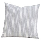 SIScovers® Modern Farmhouse Sunwashed Stripes 16-Inch Square Throw Pillow in Red/Blue