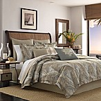 Tommy Bahama® Raffia Palms King Duvet Cover in Pewter