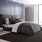 Vera Wang Home Charcoal Floral Queen Duvet Cover in Charcoal