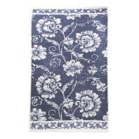 Linum Home Textiles Penelope Bath Towel in Ocean Blue