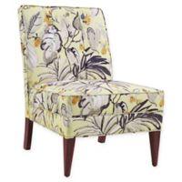 Linon Home Carmen Floral Slipper Chair
