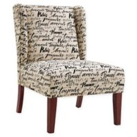 Linon Home Grace Wing Back Chair