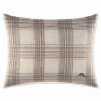 Tommy Bahama® Raffia Palms 16-Inch x 20-Inch Plaid Oblong Throw Pillow in Pebble