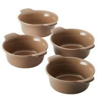 Anolon® Vesta™ 10 oz. Stoneware Ramekins in Umber (Set of 4)