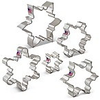 Ann Clark 5-Piece Snowflake Cookie Cutter Boxed Set