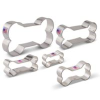 Ann Clark 5-Piece Dog Bone Cookie Cutter Boxed Set