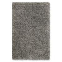 Vista Living Roberta Shag 2'x 3' Accent Rug in Grey