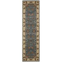 Nourison Persian Arts 2-Inch 3-Foot x 12-Foot Runner in Tabriz Light Blue