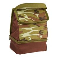 Fit & Fresh® Austin Abstract Camouflage Insulated Lunch Bag in Blue