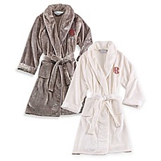Wamsutta® Personalized Plush Initial Robe