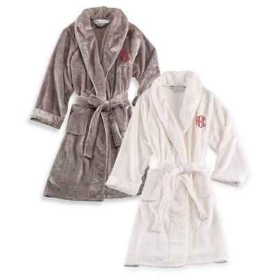 Personalized Bath Robes Monogrammed Bathrobes Bed Bath Beyond - Bathroom robes