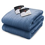 Biddeford Blankets® Micro Plush Heated King Blanket in Blue