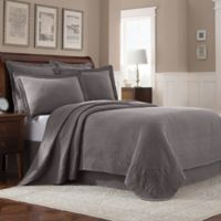 Williamsburg Abby Full Coverlet in Grey