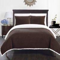 Chic Home Vargon King Blanket Set in Brown