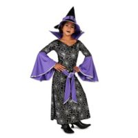 Large Enchanting Witch Child's Halloween Costume