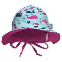 My SwimBaby® Size Small Little Mermaids Sun Hat